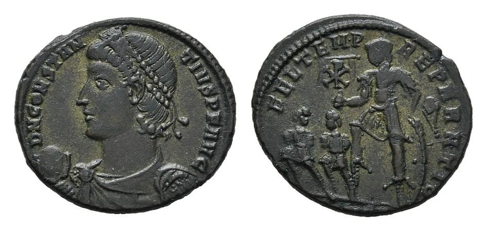 Æ-Aes 2. RÖMISCHE KAISERZEIT Constantius II., 337-361. Vorzüglich.