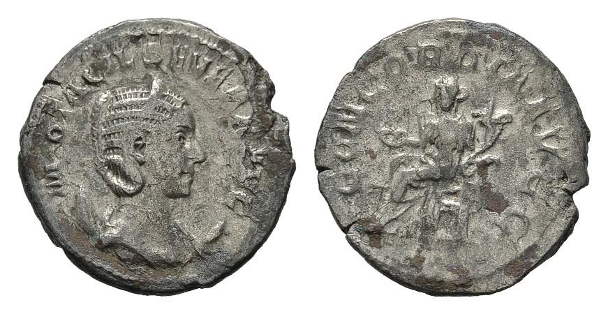 AR-Antoninian. RÖMISCHE KAISERZEIT Philippus I., 244-249 für Otacilia Severa. Schrf. Schön-Sehr schön.