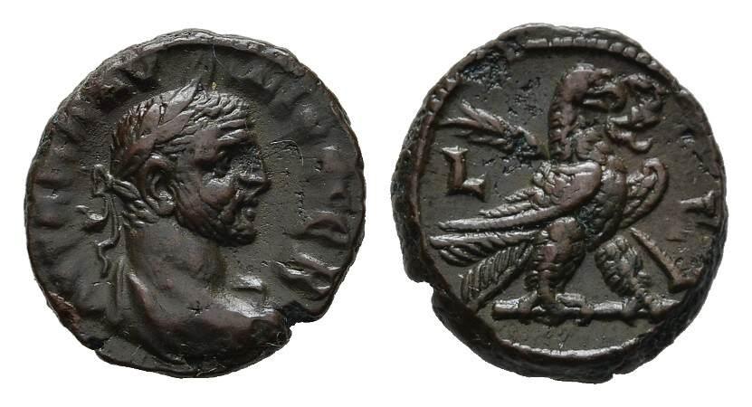 Æ-Tetradrachme Jahr 3, Alexandria. RÖMISCHE KAISERZEIT Claudius II. Gothicus, 268-270. Sehr schön-vorzüglich.