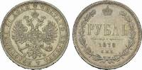 Rubel 1878, St.Petersburg. RUSSLAND Alexander II., 1855-1881. Fast vorz... 185,00 EUR  +  7,00 EUR shipping