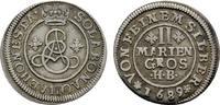 2 Mariengroschen 1689, HB-Clausthal. BRAUNSCHWEIG-LÜNEB. Ernst August, ... 136,38 SGD 90,00 EUR  zzgl. 6,82 SGD Versand