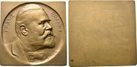REPUBLIK ÖSTERREICH Bronzeplakette, viereckig