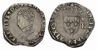 Teston 1565, L-Bayonne. FRANKREICH Charles IX, 1560-1574. Sehr schön .  209.52 CAN$  zzgl. 6.29 CAN$ Versand