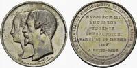 Silbermedaille 1853. FRANKREICH Napoléon III, 1852-1870. div. kl. Rdf. ... 80,00 EUR  + 7,00 EUR frais d'envoi