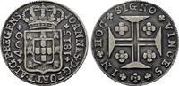 400 Reis 1815, Lissabon. PORTUGAL Johann, Prinzregent 1799-1816. Patina... 120,00 EUR  +  7,00 EUR shipping