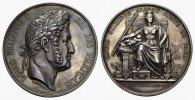 Silbermedaille (v.Domard) 1838. FRANKREICH Louis Philippe, 1830-1848. F... 1250,00 EUR  +  7,00 EUR shipping