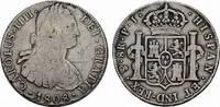 8 Reales 1808. BOLIVIEN Carlos III., 1759-1788. Kleine Dellen im Feld, ... 118.73 CAN$  zzgl. 6.29 CAN$ Versand