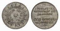 Silberabschlag des Dukaten 1817. NEUSTADT BEI DRESDEN  Vorzüglich.  128,80 SGD 85,00 EUR  zzgl. 6,82 SGD Versand