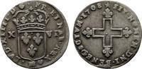 XVI Denier 1708, Strassburg. FRANKREICH Louis XIV, 1643-1715. Sehr schö... 190,00 EUR  + 7,00 EUR frais d'envoi