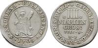 4 Mariengroschen 1708, Clausthal. BRAUNSCHWEIG-LÜNEB. Georg I. Ludwig, ... 209.52 CAN$  zzgl. 6.29 CAN$ Versand