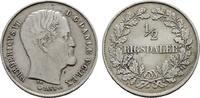1/2 Rigsdaler 1855. DÄNEMARK Frederik VII., 1848-1863. Sehr schön - vor... 95,00 EUR  +  7,00 EUR shipping