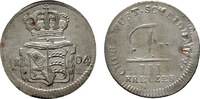 3 Kreuzer 1804. WÜRTTEMBERG Friedrich II. (I.), 1797-1806-1816. Vorzügl... 185,00 EUR  +  7,00 EUR shipping