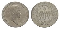 1/6 Taler 1814, A. BRANDENBURG-PREUSSEN Friedrich Wilhelm III., 1797-18... 100,00 EUR  +  7,00 EUR shipping