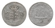 6 Kreuzer 1810. WÜRTTEMBERG Friedrich II. (I.), 1797-1806-1816. Fast St... 251.42 CAN$  zzgl. 6.29 CAN$ Versand