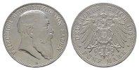 5 Mark 1907, G. Baden Friedrich I., 1852-1907. Fast vorzüglich  /  Vorz... 195.55 CAN$  zzgl. 6.29 CAN$ Versand
