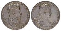 Silbermedaille (G.W. de Saulles) 1902. GROSSBRITANNIEN Edward VII, 1901... 220,00 EUR  +  7,00 EUR shipping