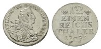 1/12 Taler 1753, C-Kleve. BRANDENBURG-PREUSSEN Friedrich II., der Große... 209.52 CAN$  zzgl. 6.29 CAN$ Versand