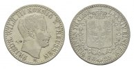 BRANDENBURG-PREUSSEN 1/6 Taler Friedrich Wilhelm III., 1797-1840.