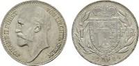 1 Frank 1924. LIECHTENSTEIN Johann II., 1858-1929. Stempelglanz.  150,00 EUR  +  7,00 EUR shipping