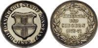 Silbermedaille( sign.M.M.) 1895. KONSTANZ  Patina.Stempelglanz  272,76 SGD 180,00 EUR  zzgl. 6,82 SGD Versand