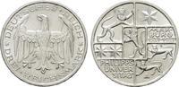 3 Reichsmark 1927, A. WEIMARER REPUBLIK  Vorzüglich-stempelglanz  135,00 EUR  + 7,00 EUR frais d'envoi