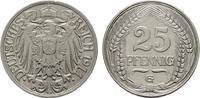 Deutsches Reich 25 Pfennig