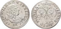 6-Gröscher 1686, Königsberg. BRANDENBURG-PREUSSEN Friedrich Wilhelm, de... 515,21 SGD 340,00 EUR  zzgl. 6,82 SGD Versand