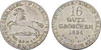 16 Gute Groschen 1834. BRAUNSCHWEIG-LÜNEB. Wilhelm IV., 1830-1837. Vorz... 140,00 EUR  + 7,00 EUR frais d'envoi