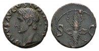 Æ-As ca . 34-37 n. Chr. gepräg RÖMISCHE KAISERZEIT Divus Augustus, ab 1... 265.39 CAN$  zzgl. 6.29 CAN$ Versand