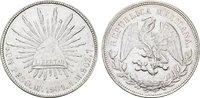 1 Peso 1953. M°-Mexico City MEXIKO Republik, 1867-1905. Vorzüglich  121,23 SGD 80,00 EUR  zzgl. 6,82 SGD Versand