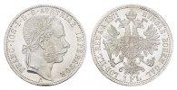 Gulden 1871, A. KAISERREICH ÖSTERREICH Franz Josef I., 1848-1916. Stemp... 150,00 EUR  +  7,00 EUR shipping