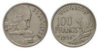 100 Francs 1958. FRANKREICH 4. Republik, 1945-1958.. Sehr schön  181,84 SGD 120,00 EUR  zzgl. 6,82 SGD Versand