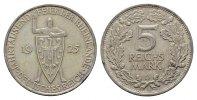 5 Reichsmark 1925, D. WEIMARER REPUBLIK  Vs. Kl. Rdf. Vorzüglich  95,00 EUR  +  7,00 EUR shipping