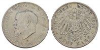 5 Mark 1914, D. Bayern Ludwig III., 1913-1918. Fast Vorzüglich  202.54 CAN$  zzgl. 6.29 CAN$ Versand