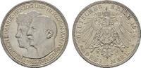 3 Mark 1914, A. Anhalt Friedrich II., 1904-1918. Fast Stempelglanz  85,00 EUR  +  7,00 EUR shipping