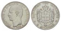 5 Drachmen 1875, A. GRIECHENLAND Georg I., 1863-1913. Sehr schön.  139.68 CAN$  zzgl. 6.29 CAN$ Versand