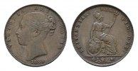 Farthing 1840. GROSSBRITANNIEN Victoria, 1837-1901. Vorzüglich-stempelg... 136,38 SGD 90,00 EUR  zzgl. 6,82 SGD Versand