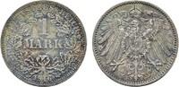 1 Mark 1916, F. Deutsches Reich  Stempelglanz  530,36 SGD 350,00 EUR  zzgl. 6,82 SGD Versand