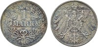 1 Mark 1916, F. Deutsches Reich  Stempelglanz  488.88 CAN$  zzgl. 6.29 CAN$ Versand