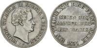 BRANDENBURG-PREUSSEN Ausbeutetaler Friedrich Wilhelm III., 1797-1840.