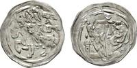 BRANDENBURG-PREUSSEN Denar Markgraf Albrecht III. 1283-1300.