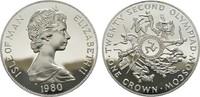 Crown 1980. GROSSBRITANNIEN Elizabeth II seit 1952. Polierte Platte.  21,00 EUR  zzgl. 4,50 EUR Versand