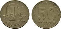 50 Pfennig 1950 A. DEUTSCHE DEMOKRATISCHE REPUBLIK, 1949-1990  Kl. Flec... 140,00 EUR  +  7,00 EUR shipping