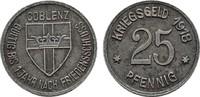 25 Pfennig 1918. RHEINPROVINZ  Fast vorzüglich.  4,00 EUR  zzgl. 4,50 EUR Versand