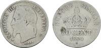 50 Centimes 1864 A. FRANKREICH Napoléon III, 1852-1870. Sehr schön -  12,00 EUR  zzgl. 4,50 EUR Versand