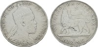 Birr 1889(1897) A. ÄTHIOPIEN Menelik II., 1889-1913. Sehr schön -  45,00 EUR  zzgl. 4,50 EUR Versand