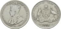 Florin (2 Shillings) 1924. AUSTRALIEN George V, 1910-1936. Sehr schön  23,00 EUR  zzgl. 4,50 EUR Versand