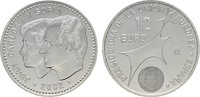 12 Euro 2002. SPANIEN Juan Carlos I., 1975-2014. Stempelglanz  12,00 EUR  zzgl. 4,50 EUR Versand
