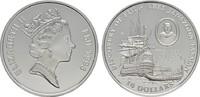 10 Dollars 1993. FIDSCHI INSELN Elizabeth II. seit 1952. Polierte Platte  20,00 EUR  zzgl. 4,50 EUR Versand
