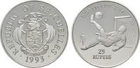 25 Rupees 1993. SEYCHELLEN  Polierte Platte  20,00 EUR  zzgl. 4,50 EUR Versand
